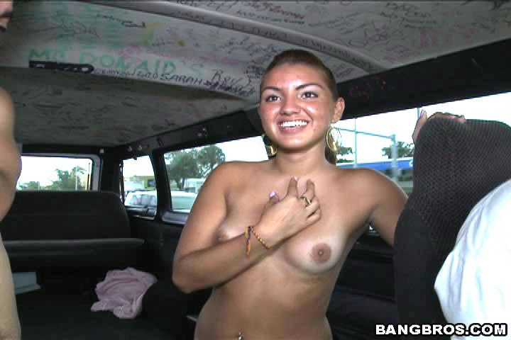 Молодая шлюха трахнулась в микроавтобусе