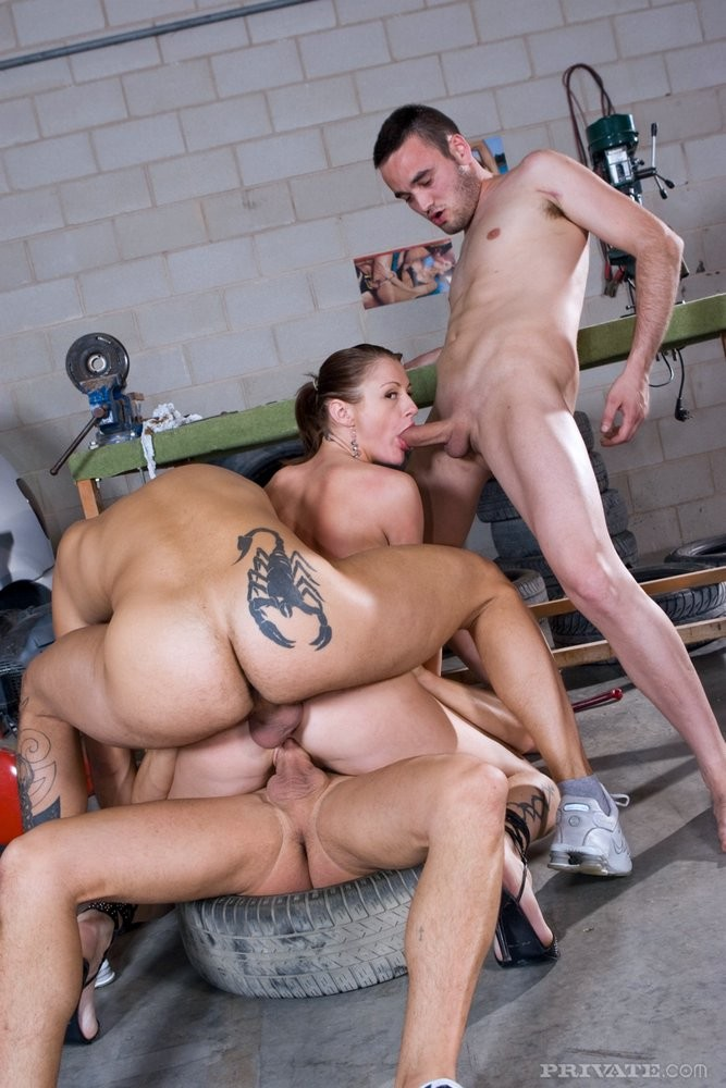 Girlfriend Is Satisfied After A Long And Wild Fuck Session