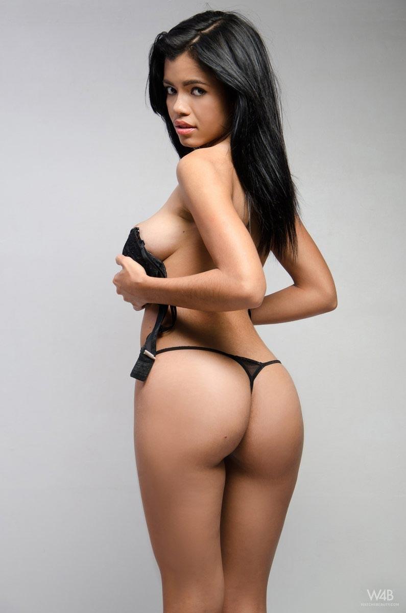 Hot naked columbian woman