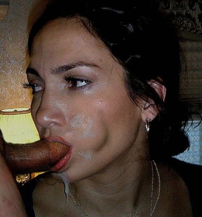 Jennifer Lopez - Сперма на лицо - Галерея № 3331931