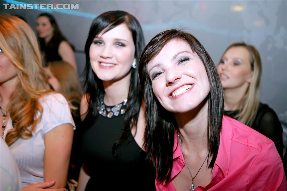 Пьяненькие в клубе