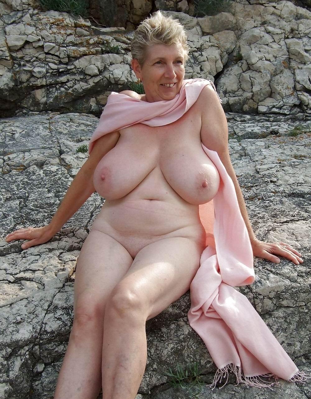 Grandmother Big Tits Slut Erotic Pics