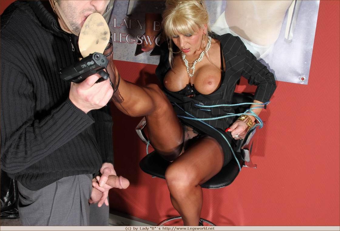 Фетиш с немкой Lady Ewa