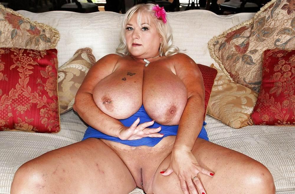 Milf with humongous tits