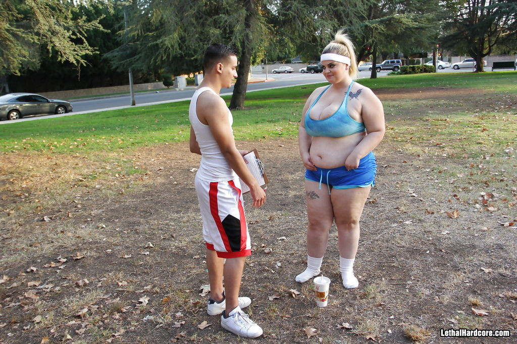 Sashaa Juggs, Sonny Nash - В спортзале - Галерея № 3417961