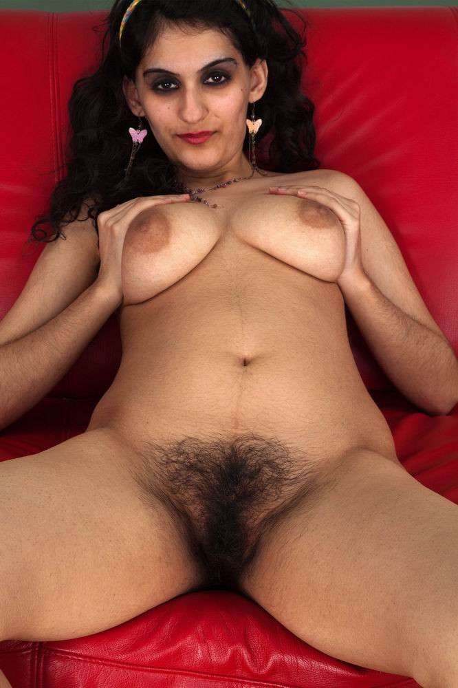 Hairy nude indian women