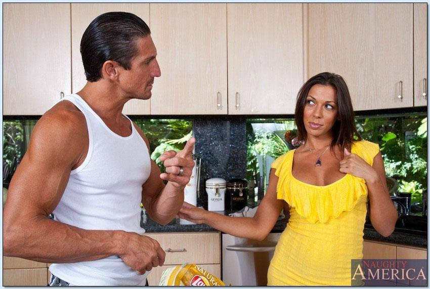 Rachel Starr - На кухне - Галерея № 3484092