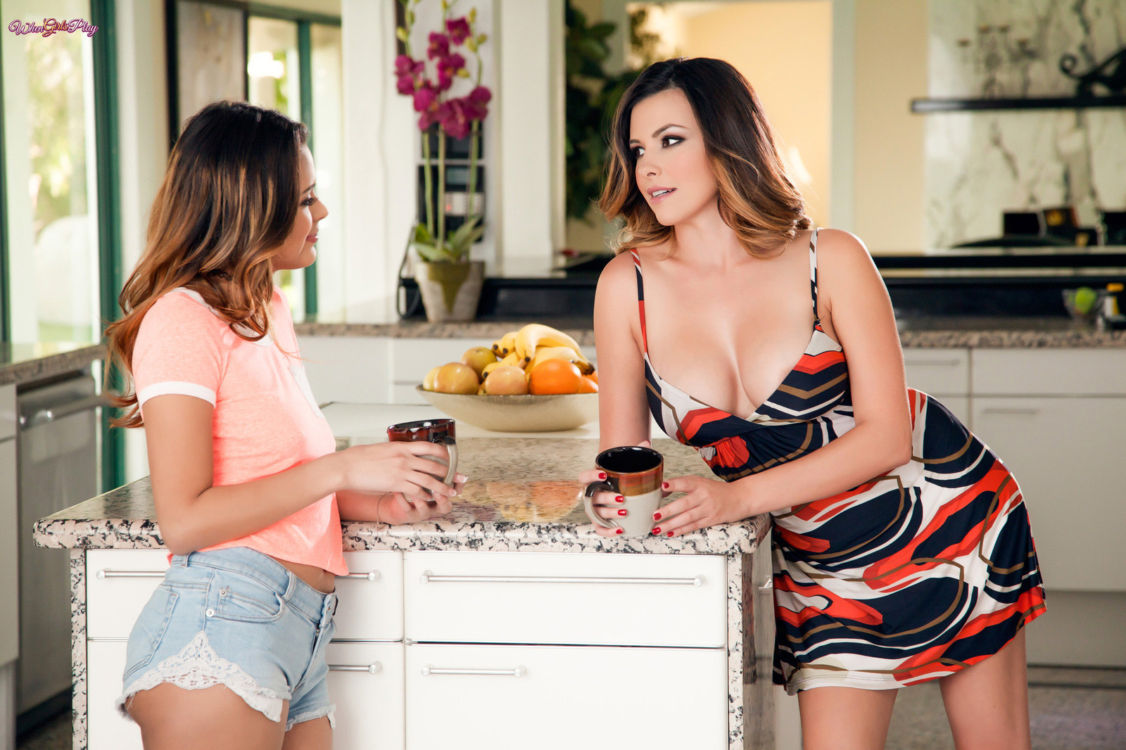 Josie Jagger, Danica Dillan - На кухне - Галерея № 3492426