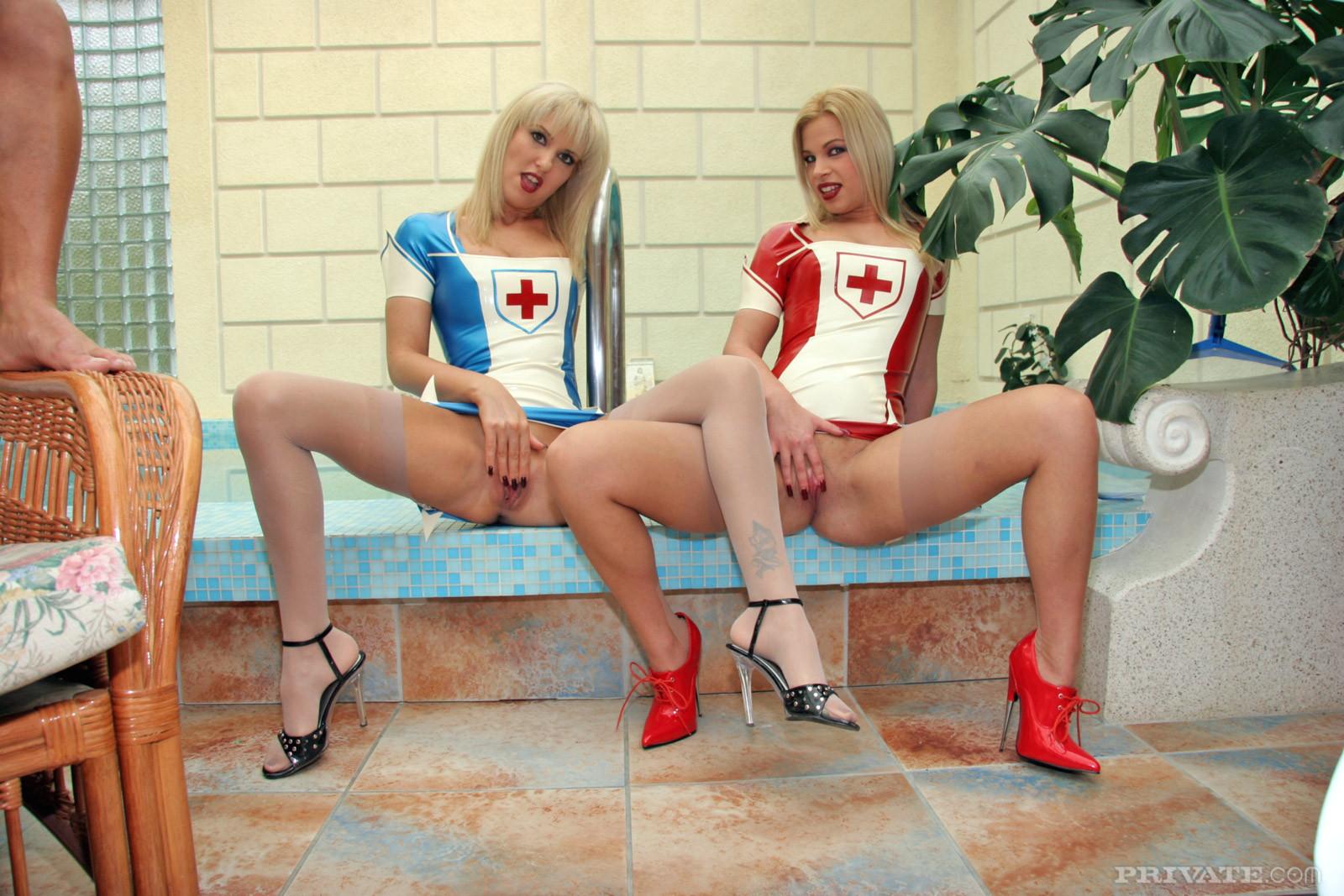 Simony Diamond, Jessica Girl, Tira, Crystal Crown, Denys Cult - Медсестра - Галерея № 3474335