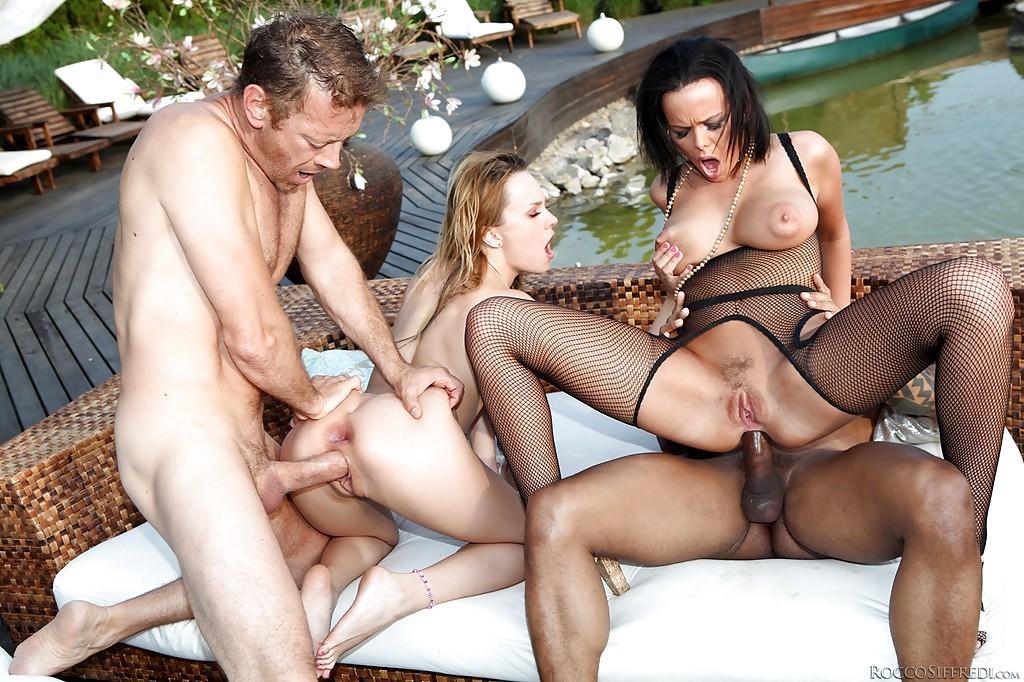 Italian Milfs Orgy