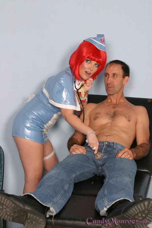 Тупая медсестра и негр
