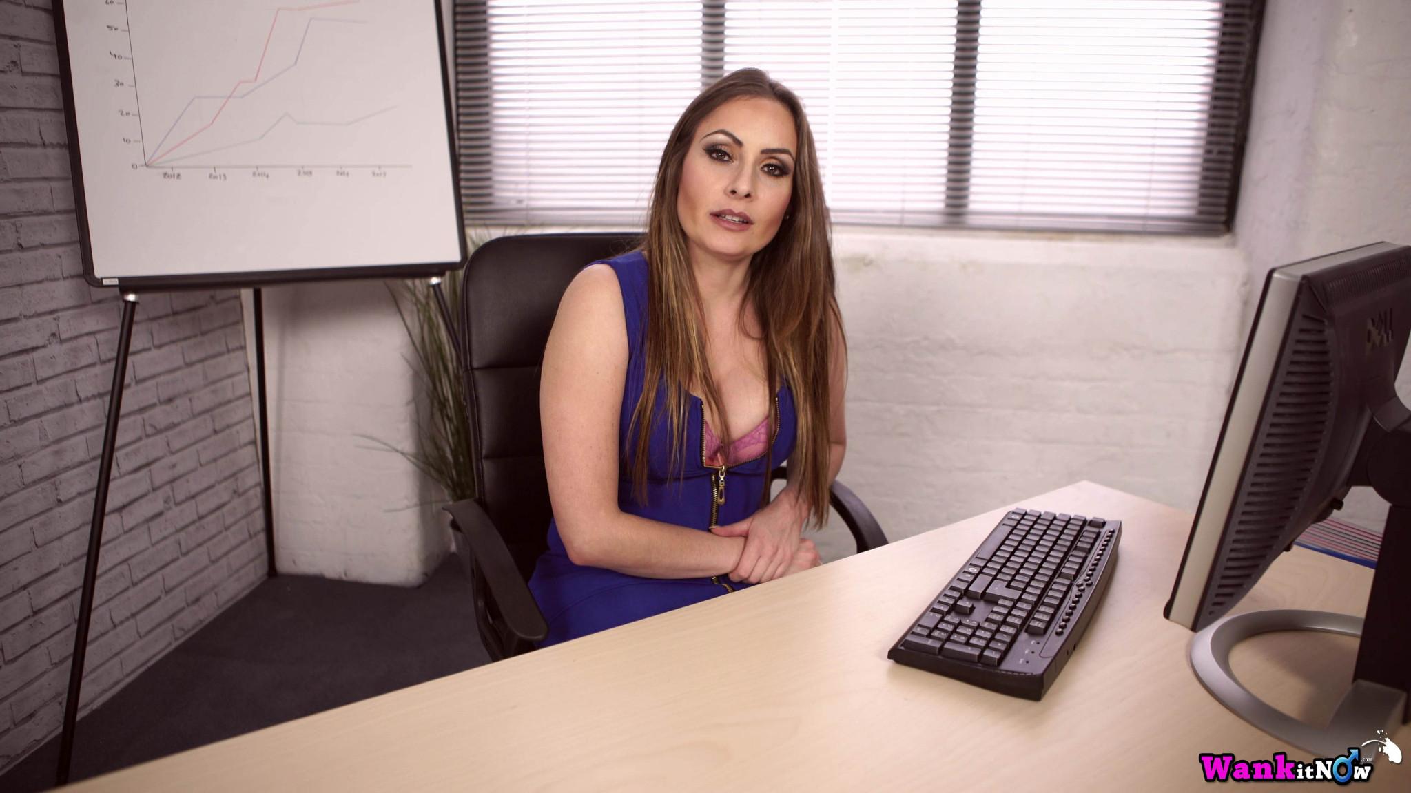 Sophia Delane - В офисе - Галерея № 3505199
