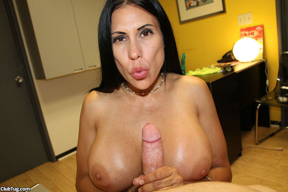 Milf tugjob lover toying with cock tnaflix porn pics