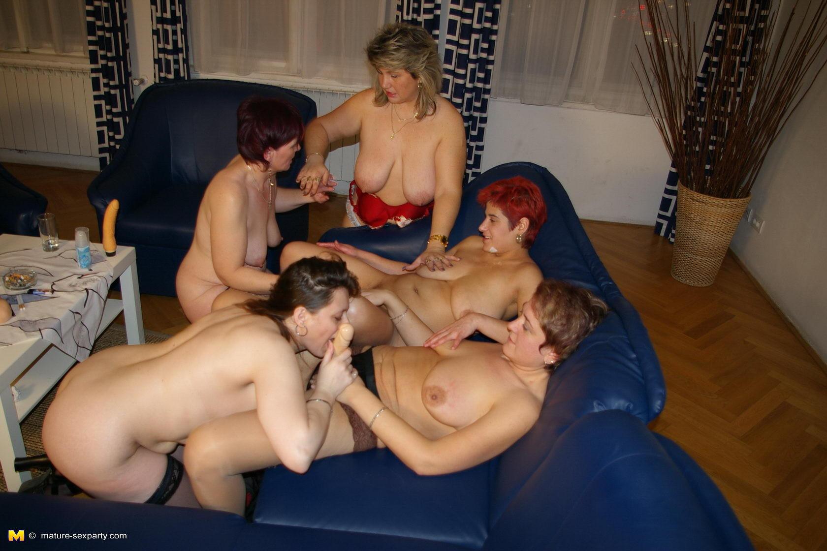 Swingin moms sex party
