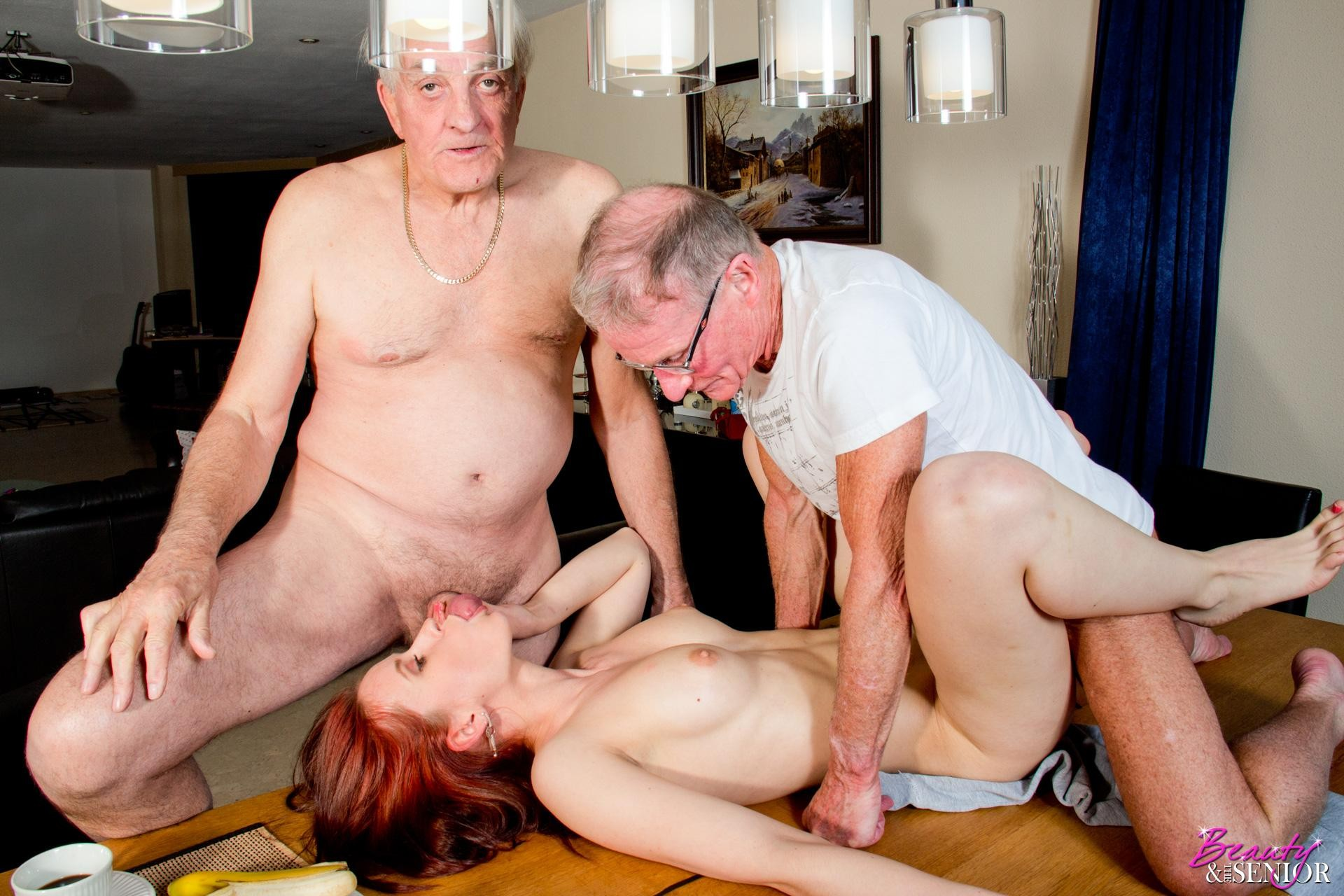 Let grandpa put his dick on your mouth