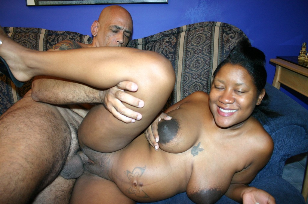 Pregnant black girl fucking