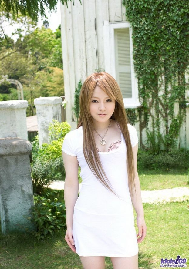 Рыжая азиатка Ria Sakurai