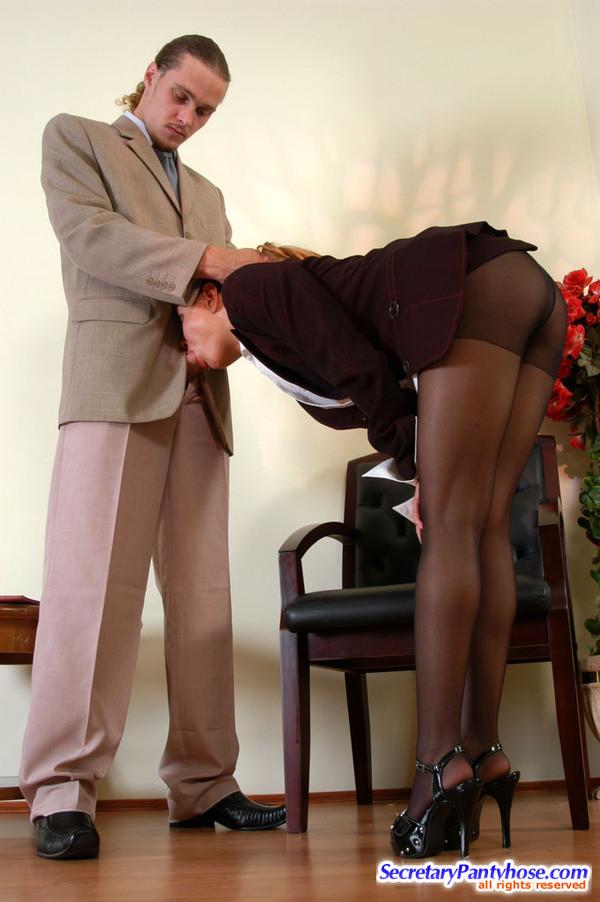 Panty secretary sex