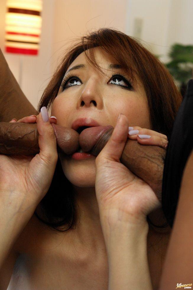 Rika Tamura - Секс втроем - Галерея № 3550782
