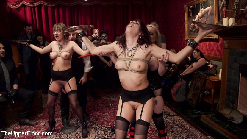 Charlotte Cross, Nikki Knightly, Bill Bailey, Aiden Starr - Секс втроем - Галерея № 3520063