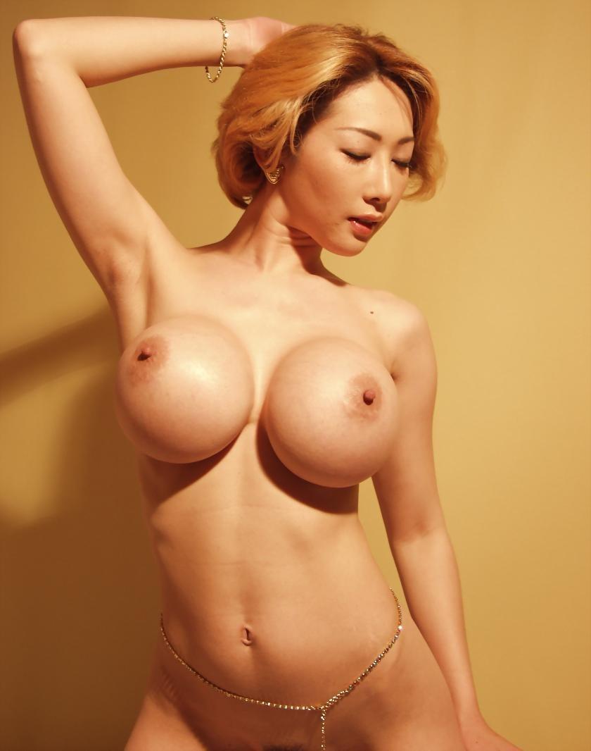 Jada Cheng Asian Fake Tits In Micro Bikini
