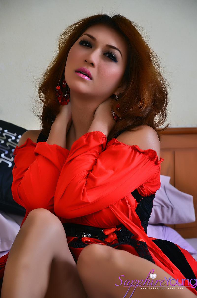 Sapphire Young - Транссексуал - Галерея № 3328909