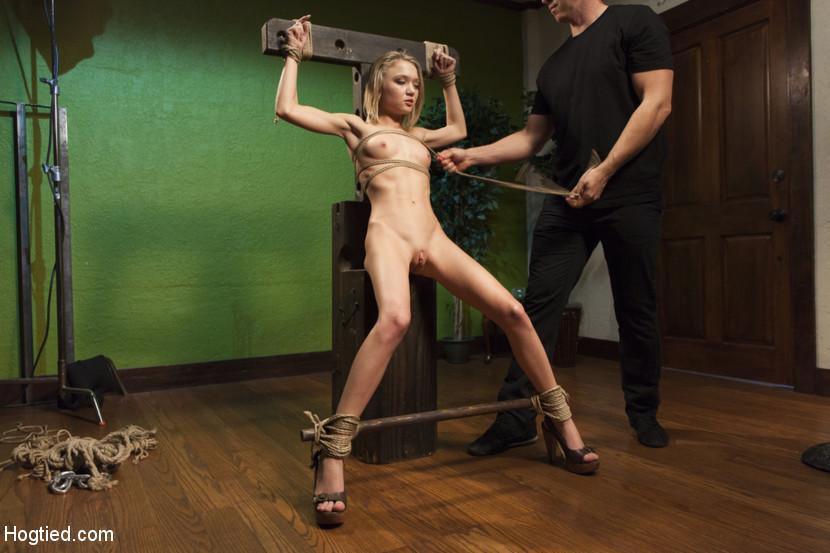 Skinny girls into bdsm