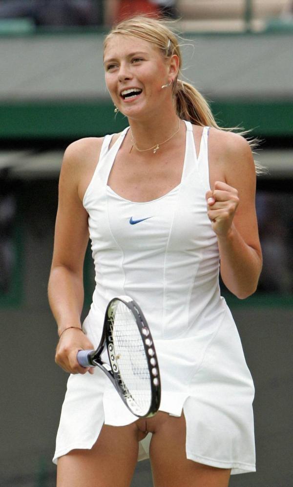 Maria Sharapova - Под юбкой - Галерея № 3311303