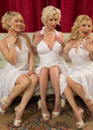 Cherry Torn, Ashley Fires, Ash Hollywood, Ryan Driller - Дрочит ножками (футджоб) - Галерея № 3283180