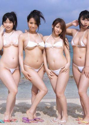 Megumi Haruka, Nana Kyoko, Maki Akimoto, Nanaka Kyono, Haruna Maeda - Вчетвером - Галерея № 3255205