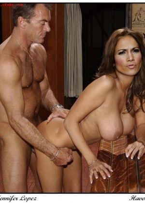 Jennifer Lopez - Групповой секс - Галерея № 3302175