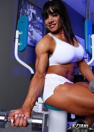 Marina Lopez - В спортзале - Галерея № 3432131