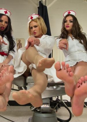 Brandy Aniston, Amy Brooke, Krissy Lynn, Allie Haze - Медсестра - Галерея № 3412656