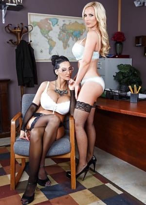 Nikki Benz, Amy Anderssen - Секретарша - Галерея № 3445171