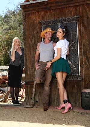 Jack Vegas, Alana Evans, Anna Morna - Секс втроем - Галерея № 3548956