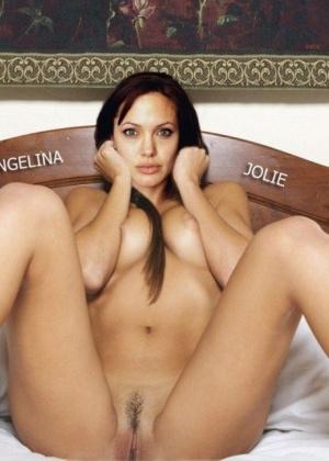 Angelina Jolie - Секс втроем - Галерея № 3261984