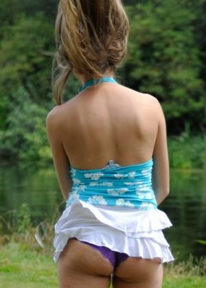 Hayley Marie - Под юбкой - Галерея № 3515197