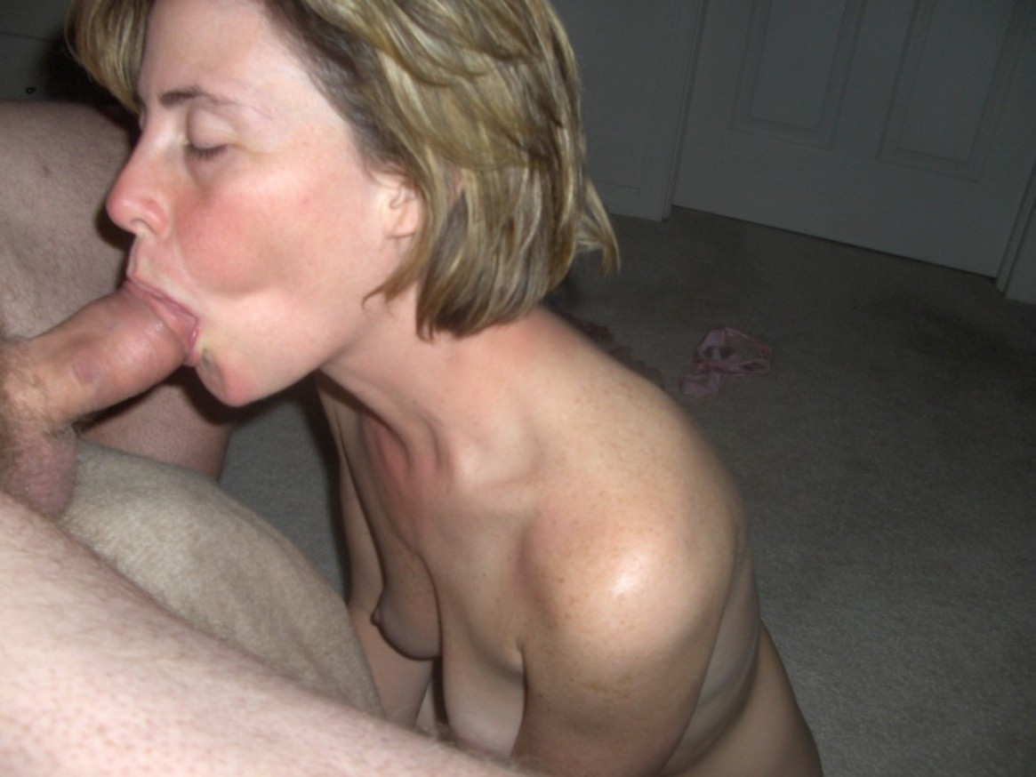 Hot Wife Gives Me A Nice Blowjob With A Finish In Her Mouth
