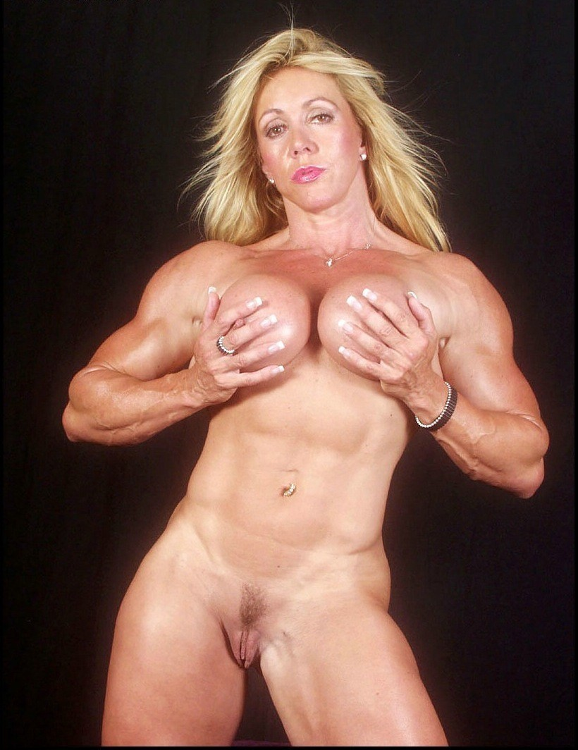 Pin on woman body builder's