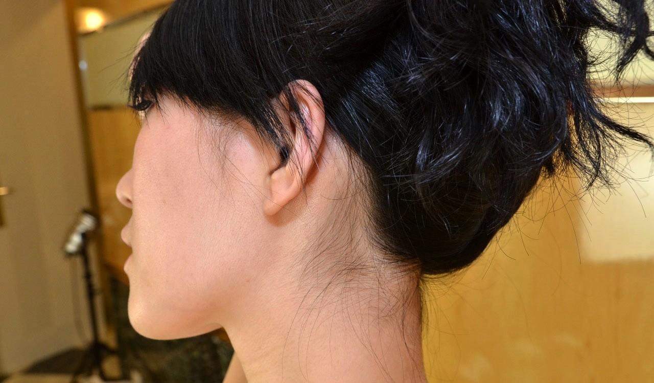 Худая азиатка Лори сосет и ебется
