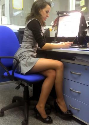 Реальные сексуальные секретарши