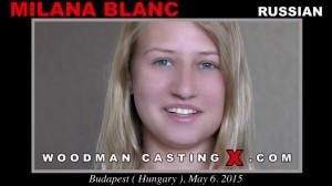 Интервью и ебля в рот Milana Blanc на кастинге Вудмана