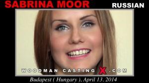Русская модель Sabrina Moor и Вудман