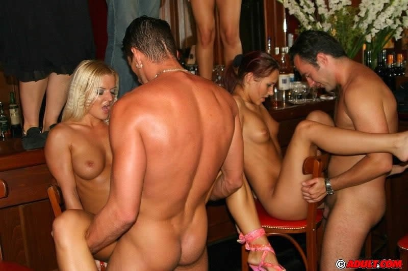 Груповое порно пьяное
