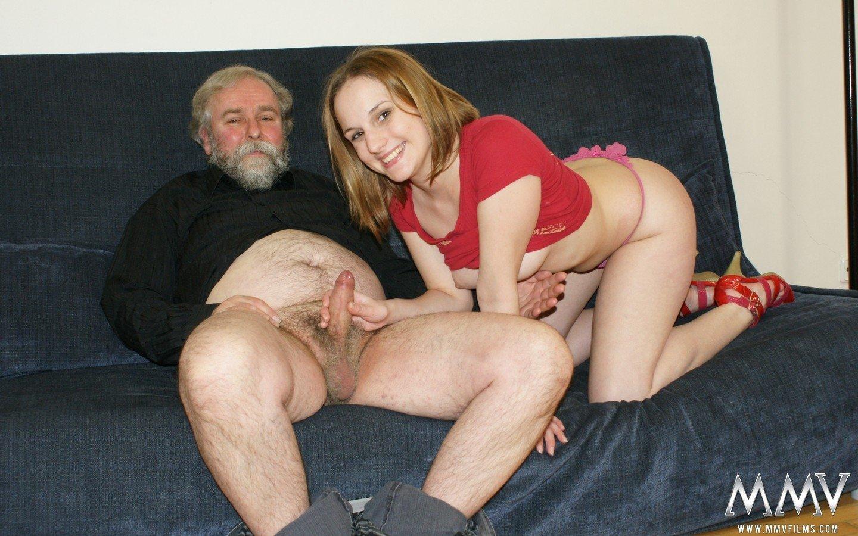 С ебли внучкой порно старика фото