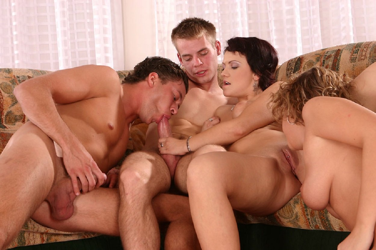 Порно групповое би