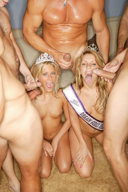 Порно королевы групповуха