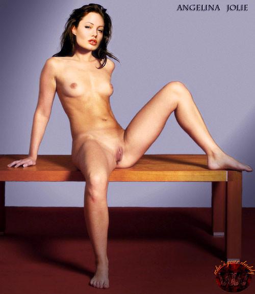 Голая анжелика джоли порно фото в чулках 78