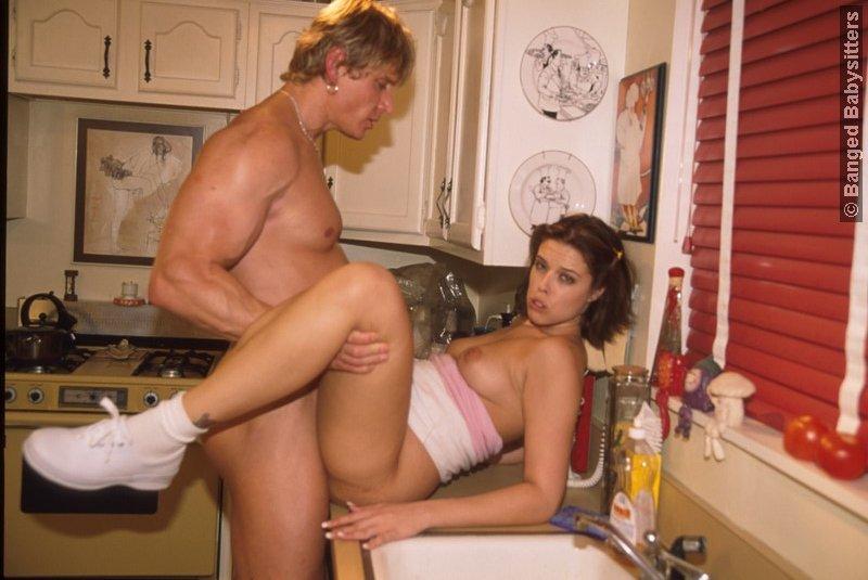 присунул на кухне фото
