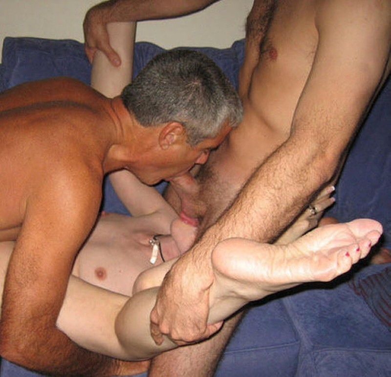 Ugly foot fetish milf